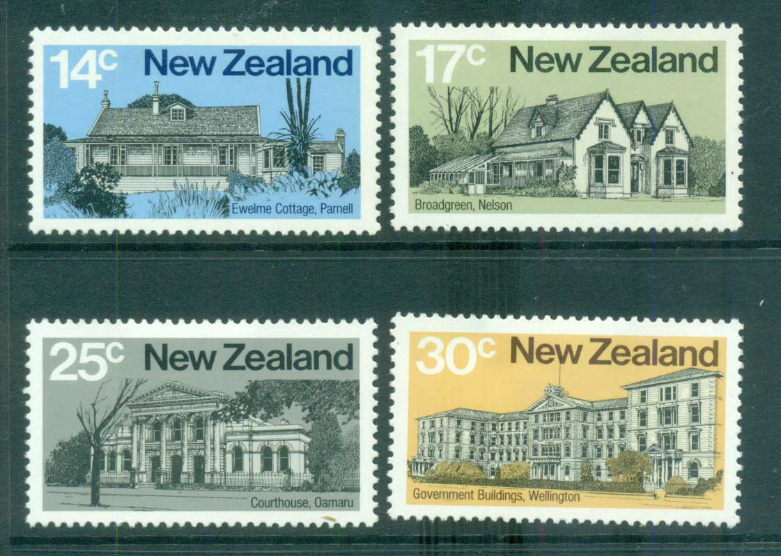 New Zealand 1980 early NZ Architecture MLH lot71793