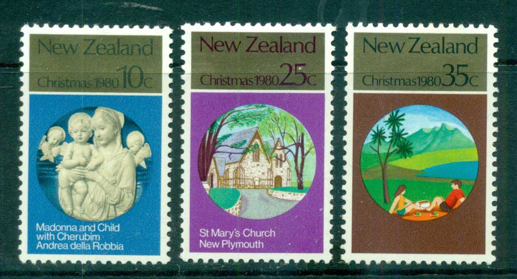 New Zealand 1980 Xmas MLH lot71798