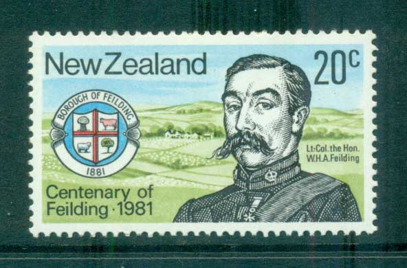 New Zealand 1981 Borough of Fielding Cent. MLH lot71804