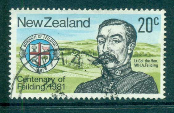 New Zealand 1981 Borough of Fielding Cent. FU lot71805