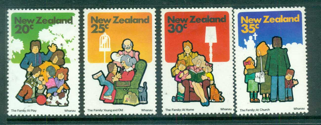 New Zealand 1981 Families MLH lot71806