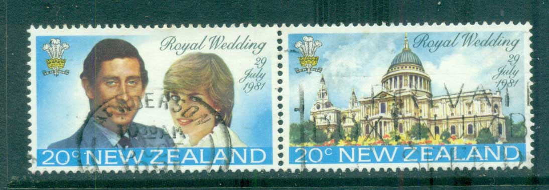 New Zealand 1981 Charles, Diana Wedding pr lot71810