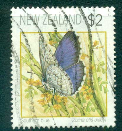 New Zealand 1991-95 Butterflies $2, (not perf checked) FU lot71918
