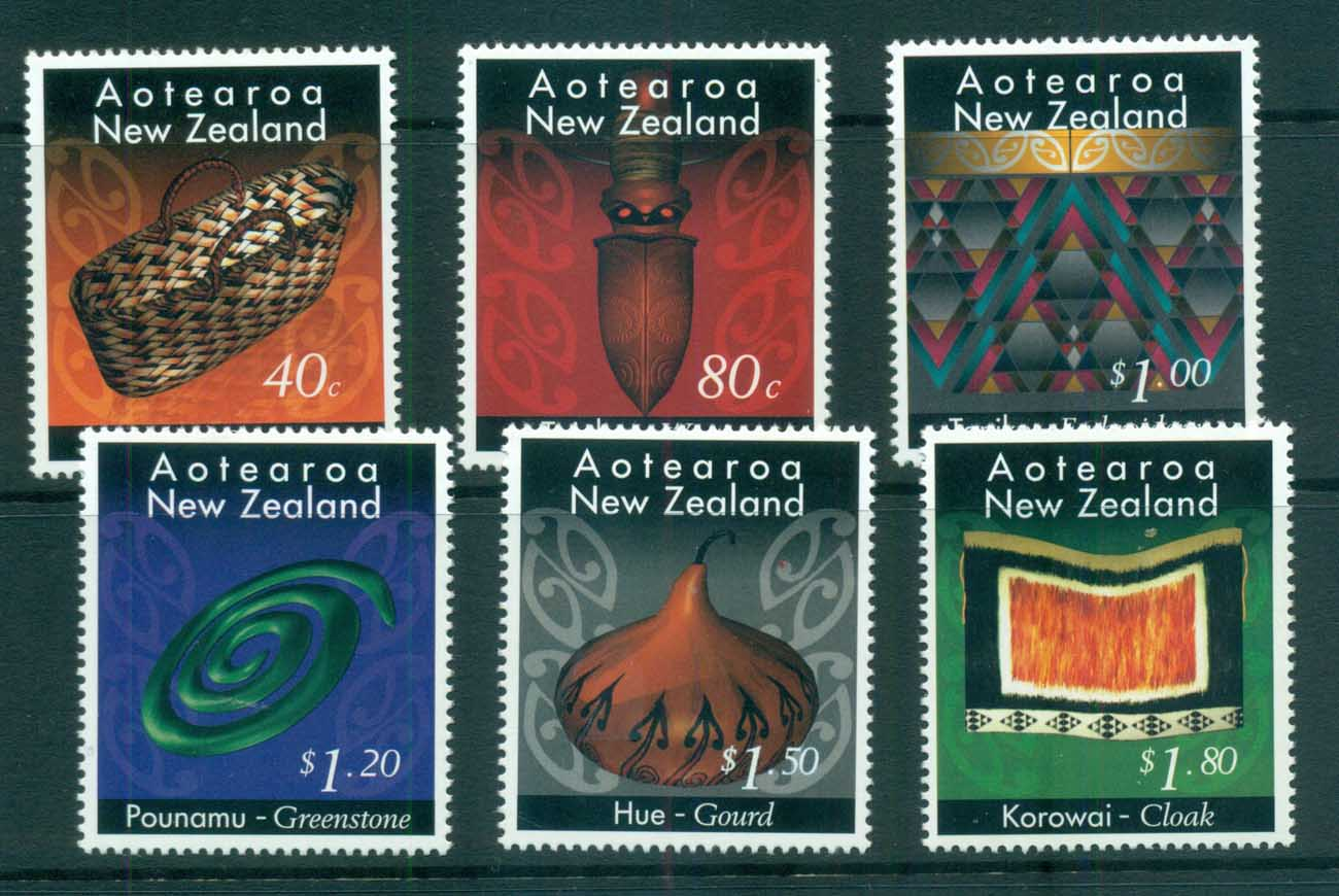 New Zealand 1996 Maori Crafts MUH lot71965