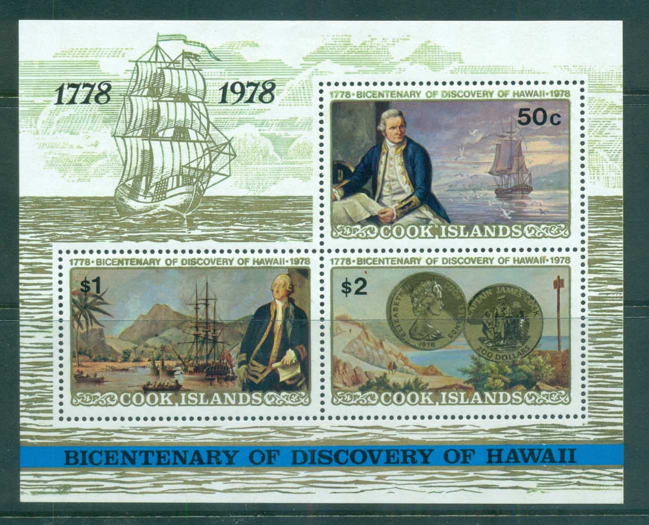 Cook Is 1978 Captain Cook MS MUH lot71989