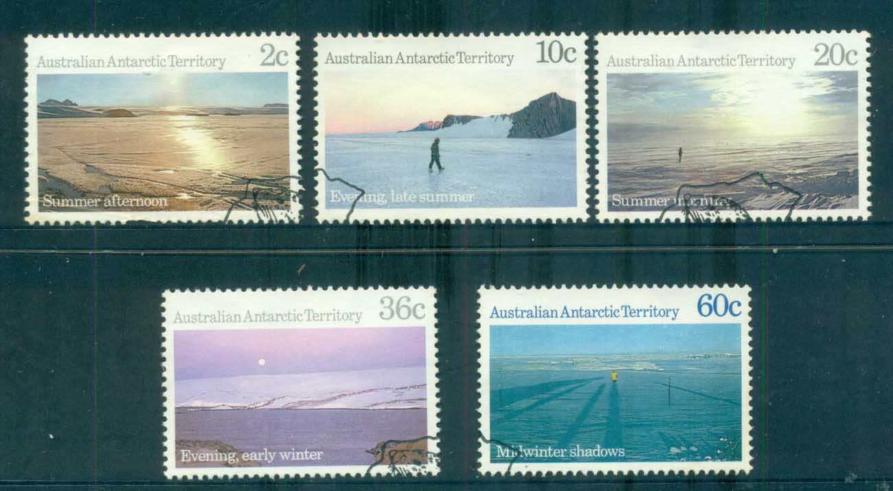 AAT 1987 Antarctic Scenes III FU lot72102