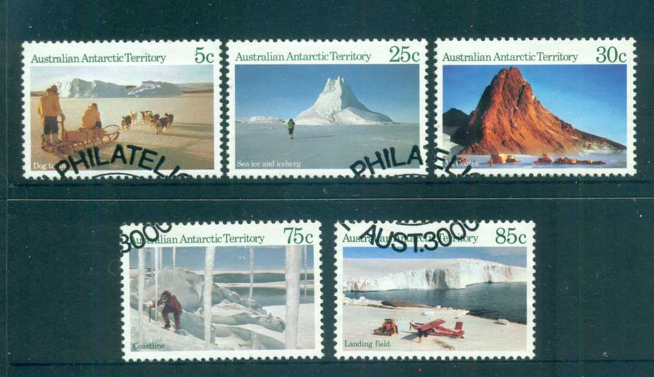 AAT 1984 Antarctic Scenes I FU lot72103