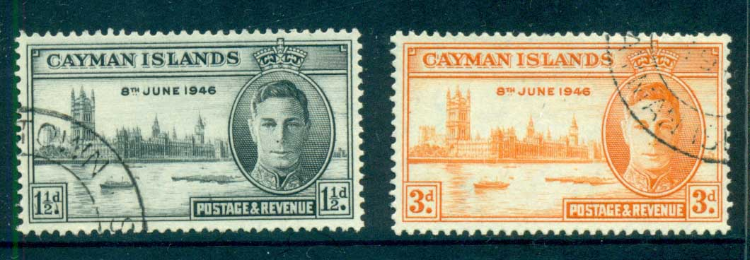 Cayman Is 1946 Victory FU lot72483