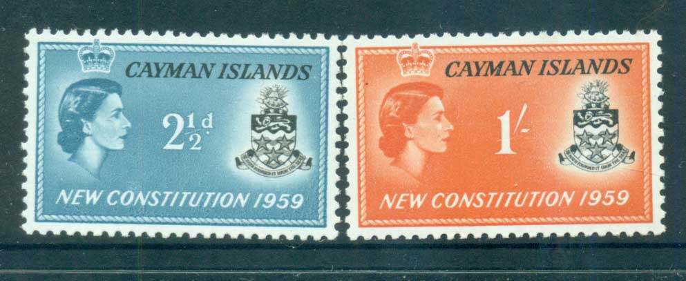 Cayman Is 1959 New Constitution MUH lot72486