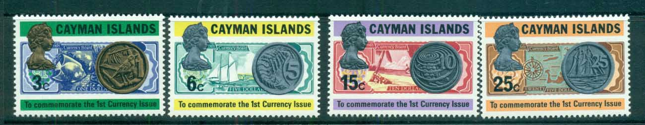 Cayman Is 1973 Cayman Is Coinage MUH lot72520
