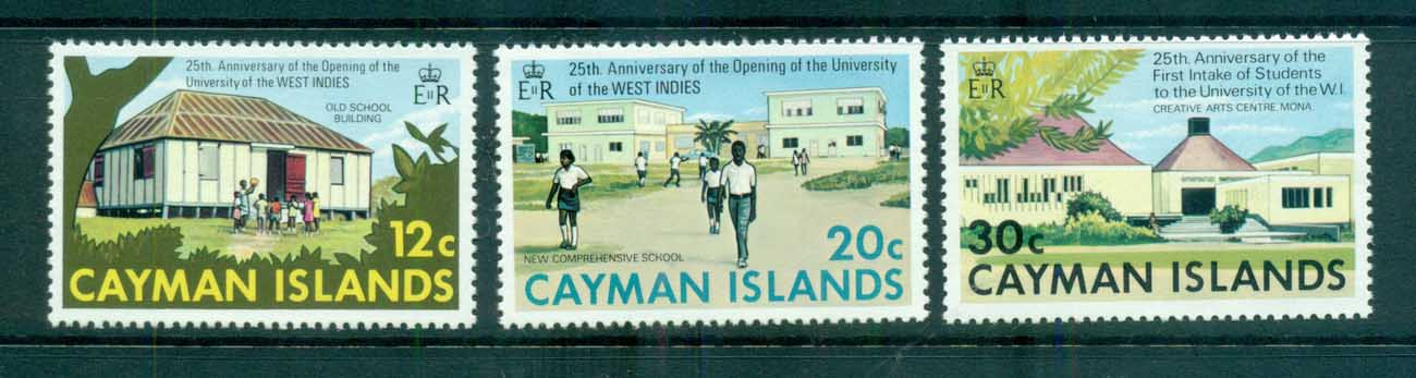 Cayman Is 1974 University College Anniv. MUH lot72525