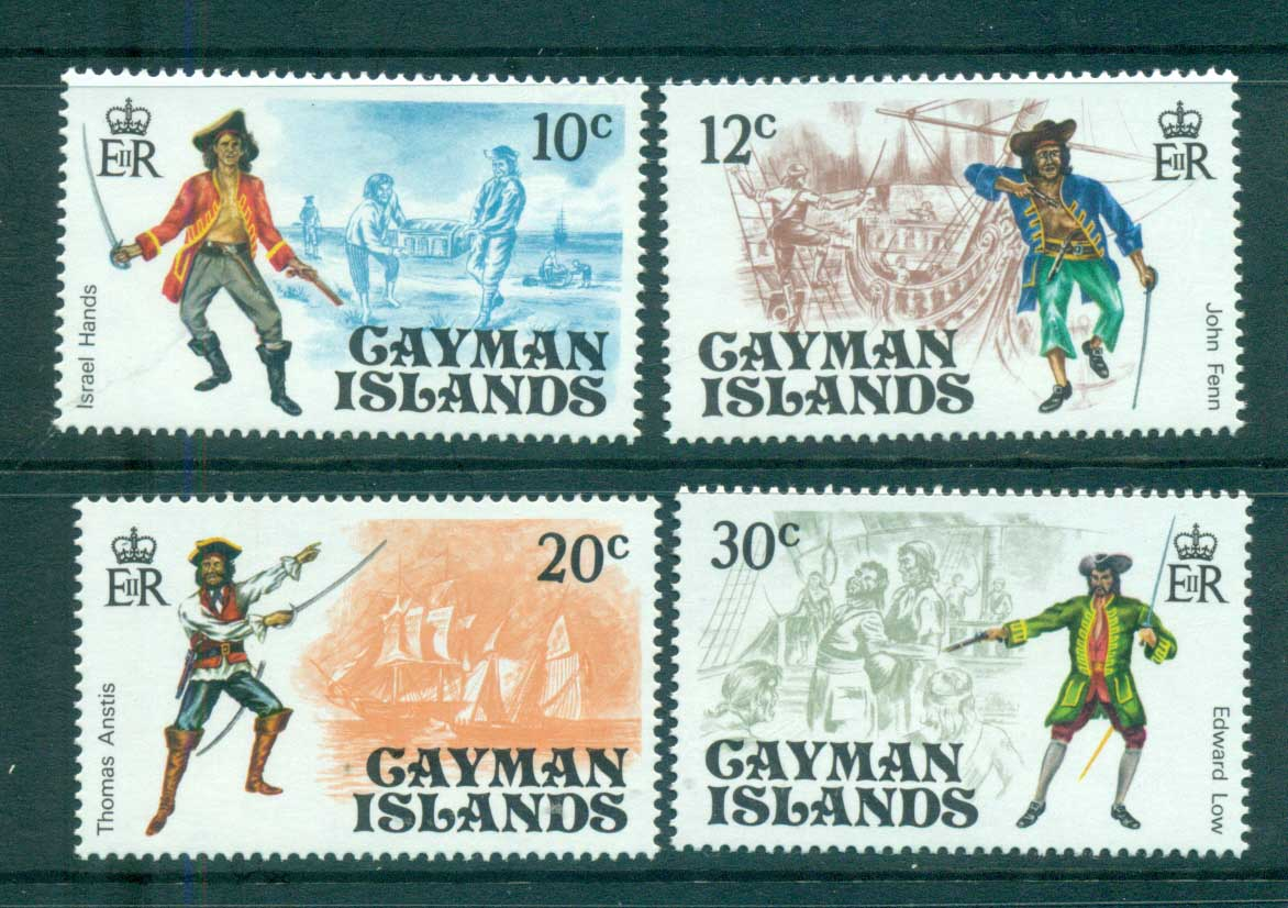 Cayman Is 1975 Pirates MUH lot72555