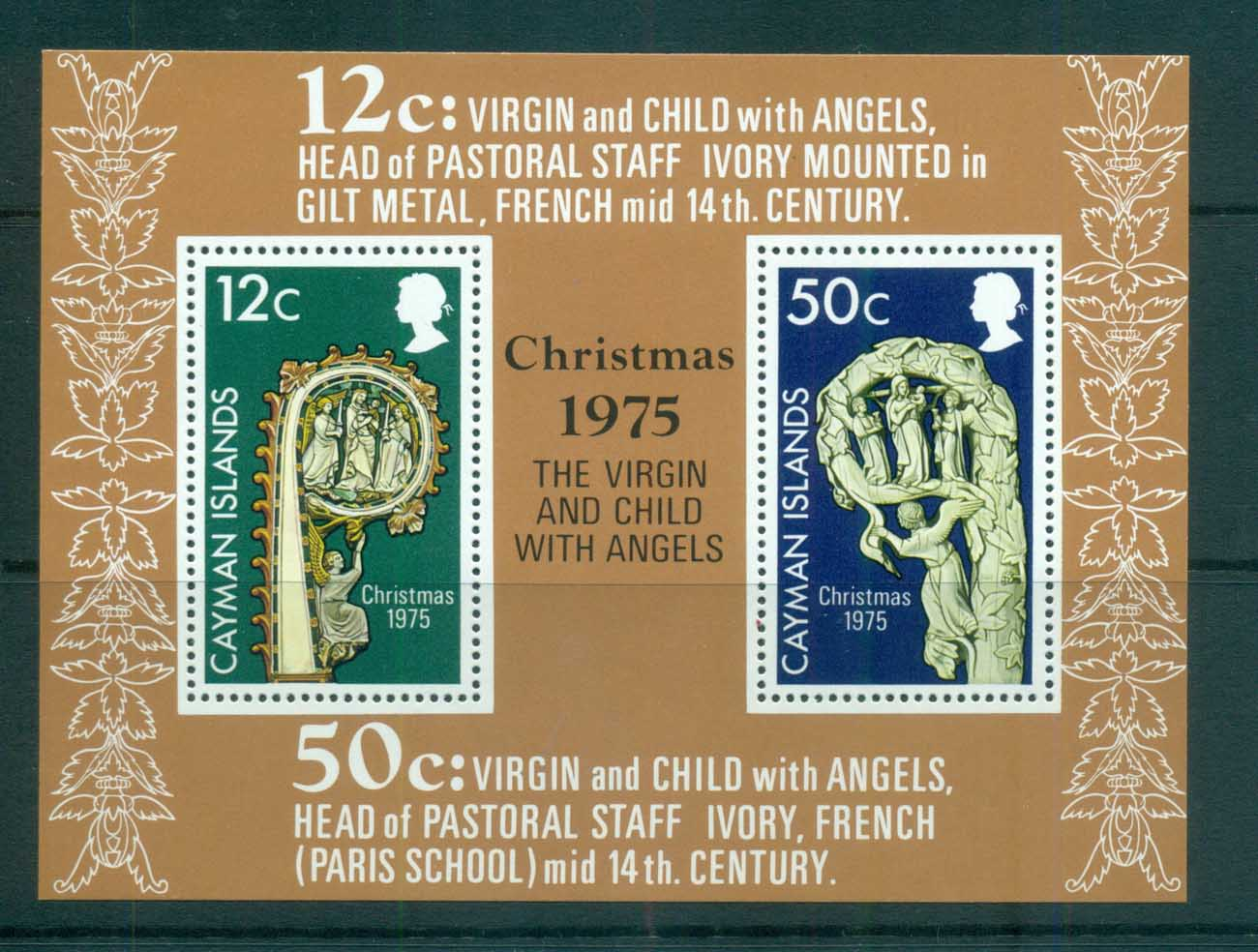 Cayman Is 1975 Xmas MS MUH lot72557