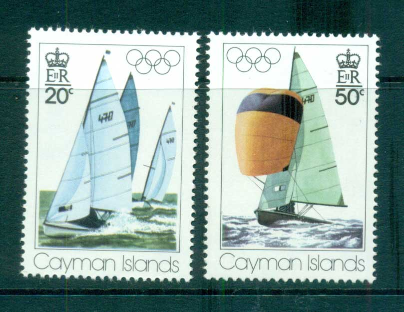 Cayman Is 1976 Montreal Olympics MUH lot72559