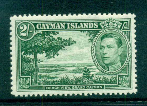 Cayman Is 1938-43 2/- Beach View Grand Cayman MUH lot72641