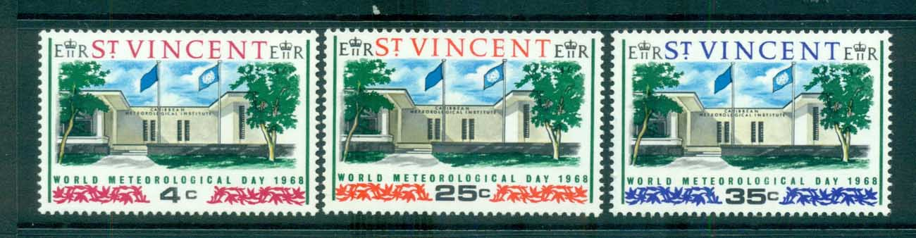 St Vincent 1968 World Meterological day MUH lot72684