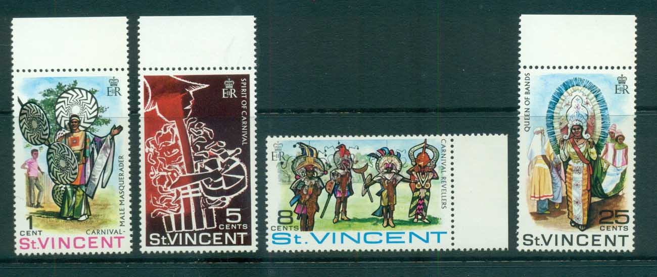 St Vincent 1968 Carnival MUH lot72693