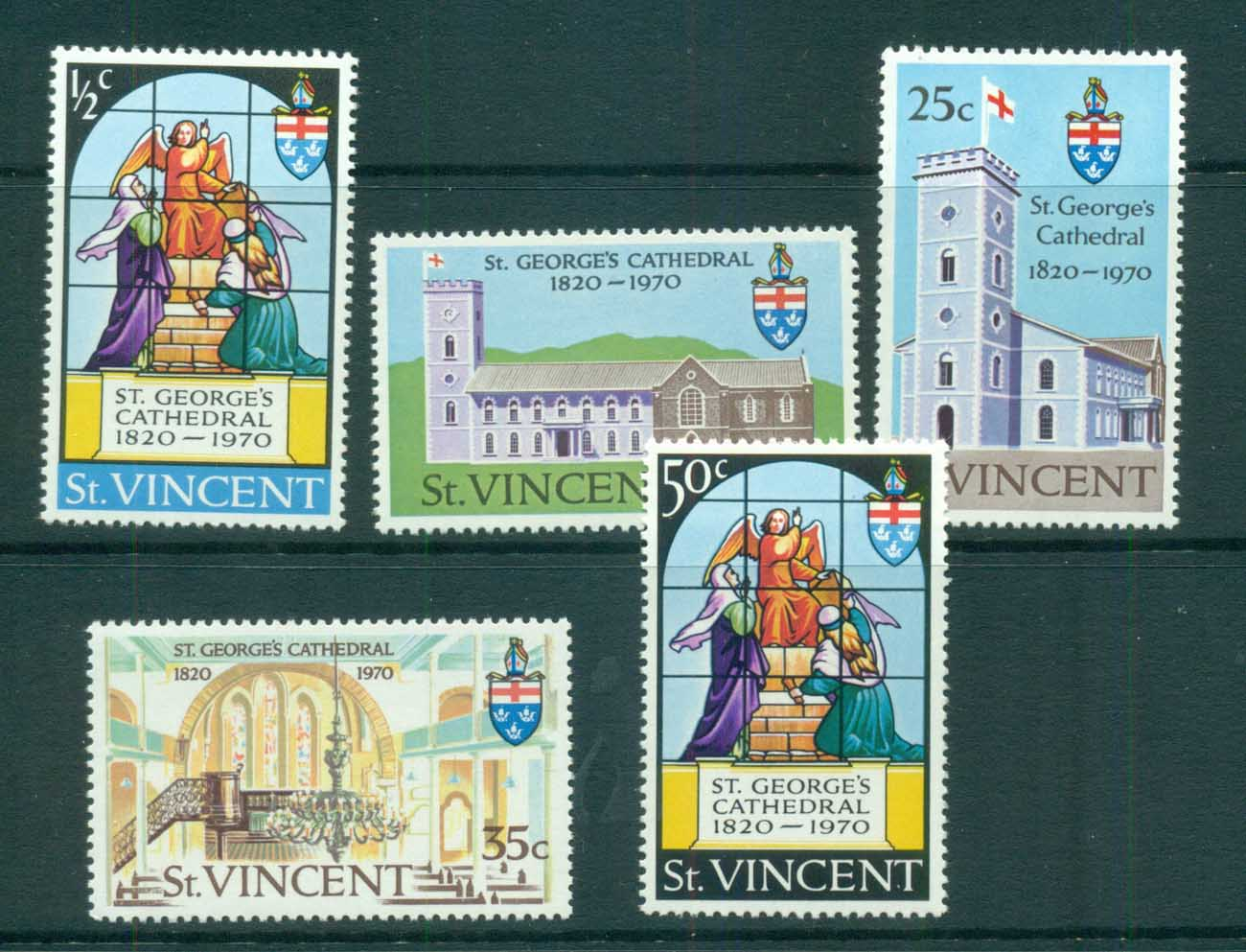 St Vincent 1970 St George's Anglican Cathederal MUH lot72701