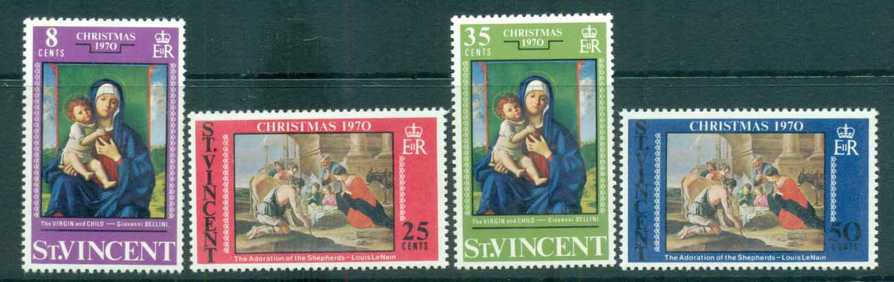 St Vincent 1970 Xmas MUH lot72702