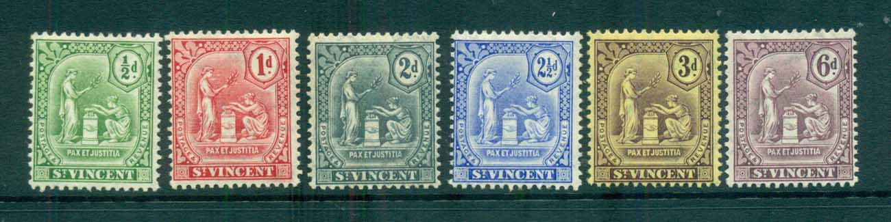 St Vincent 1909-11 Peace & Justice MLH lot72863