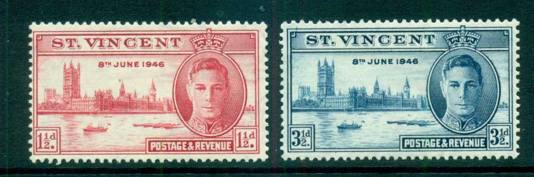 St Vincent 1948 Victory MLH lot72889