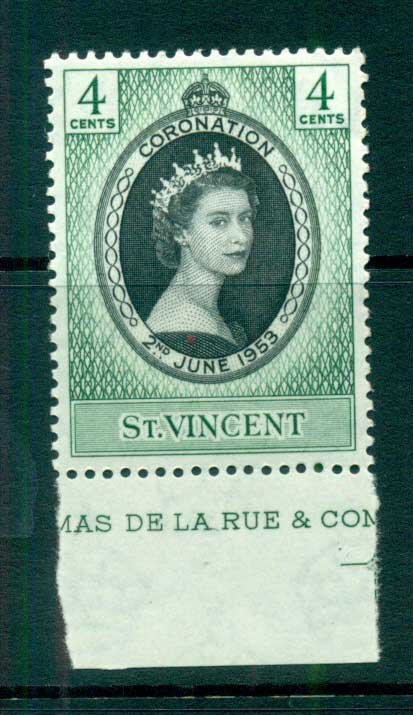 St Vincent 1953 Coronation MUH lot72900