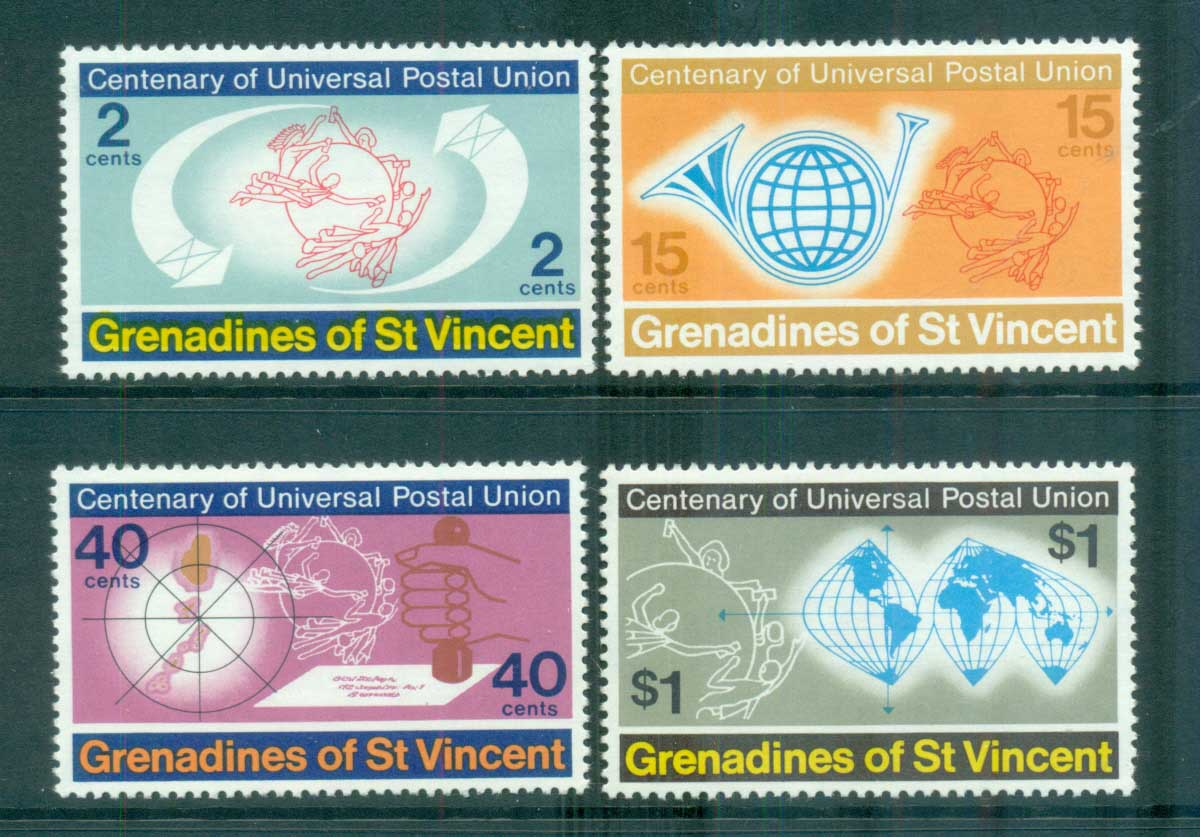 St Vincent Grenadines 1974 UPU Anniv. MUH lot72947