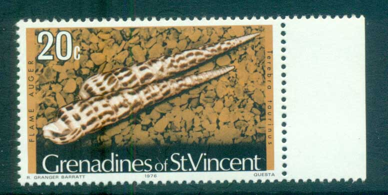 St Vincent Grenadines 1974-76 Shell Definitives 20c, 1976 date MUH lot72956