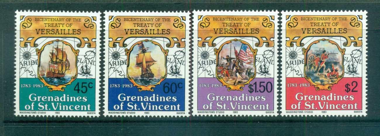 St Vincent Grenadines 1983 Treaty of Versailles MUH lot73004