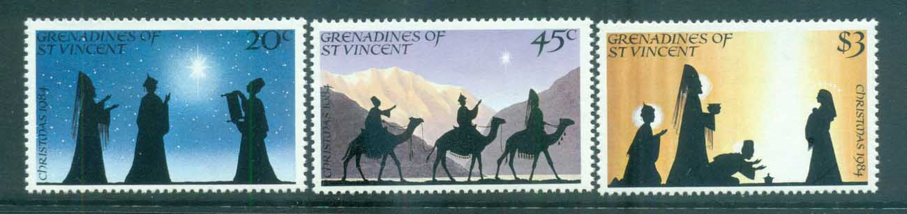 St Vincent Grenadines 1984 Xmas MUH lot73015