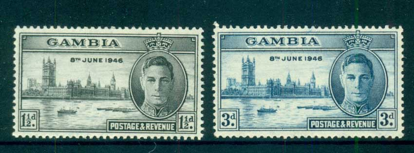 Gambia 1946 Victory MUH lot73046