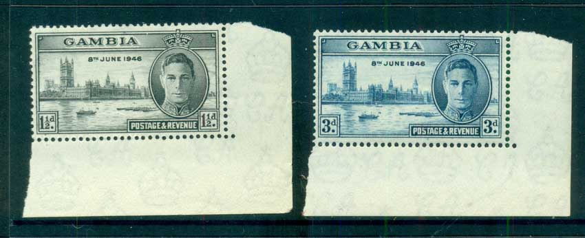 Gambia 1946 Victory MUH lot73048