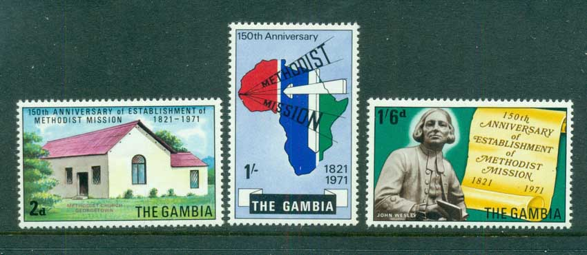 Gambia 1971 Methodist Mission MUH lot73066