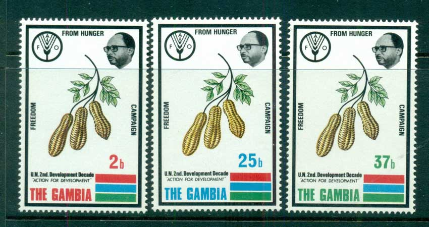 Gambia 1973 FAO Freedom from Hunger MUH lot73072