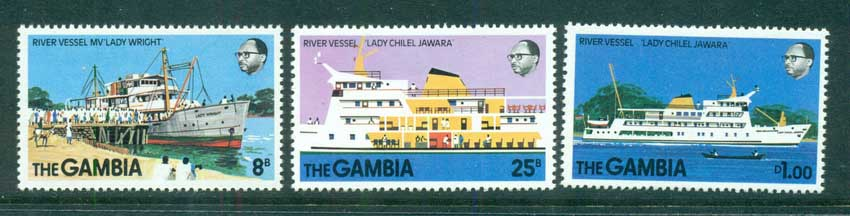 Gambia 1978 New River Vessels MUH lot73103