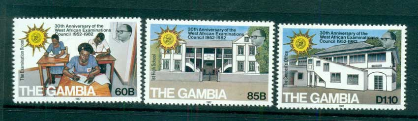 Gambia 1982 west African Examinations Council MUH lot73124