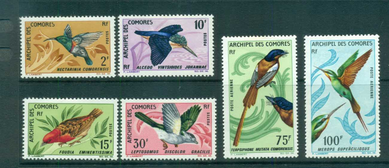 Comoro Is 1967 Birds MLH lot73307