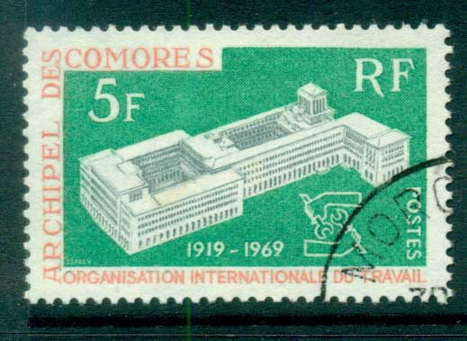 Comoro Is 1969 ILO FU lot73312