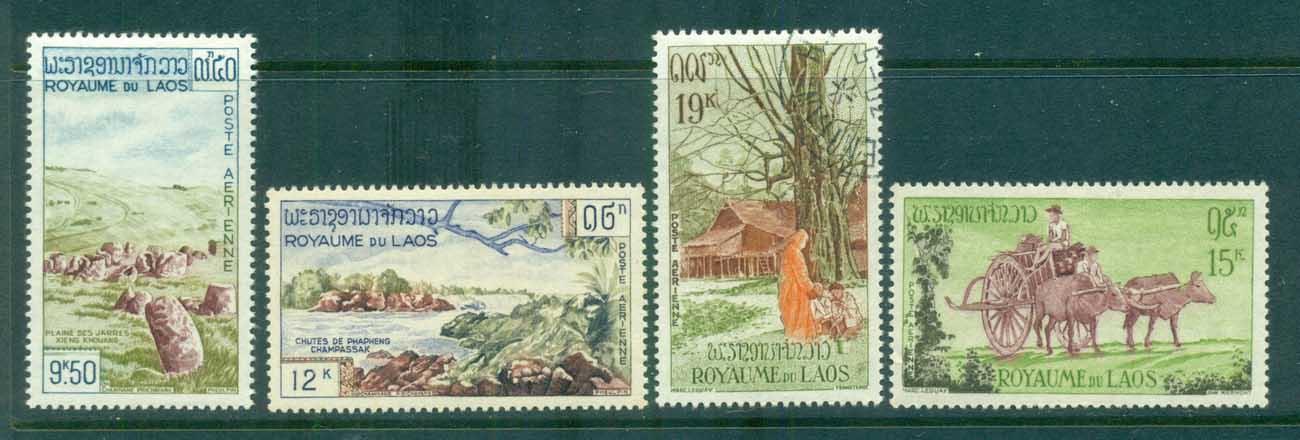 Laos 1960 Tourism Industry MLH lot73625