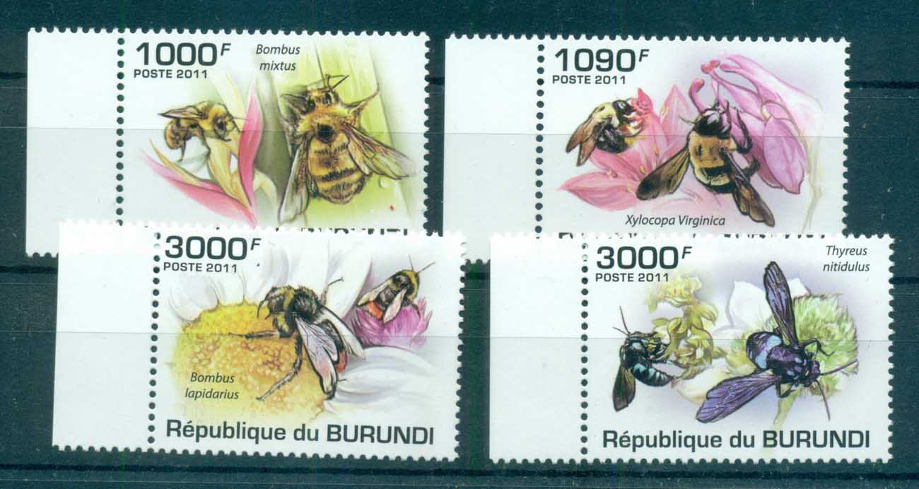 Burundi 2011 Insects, Bee, Fly MUH BUR11202a