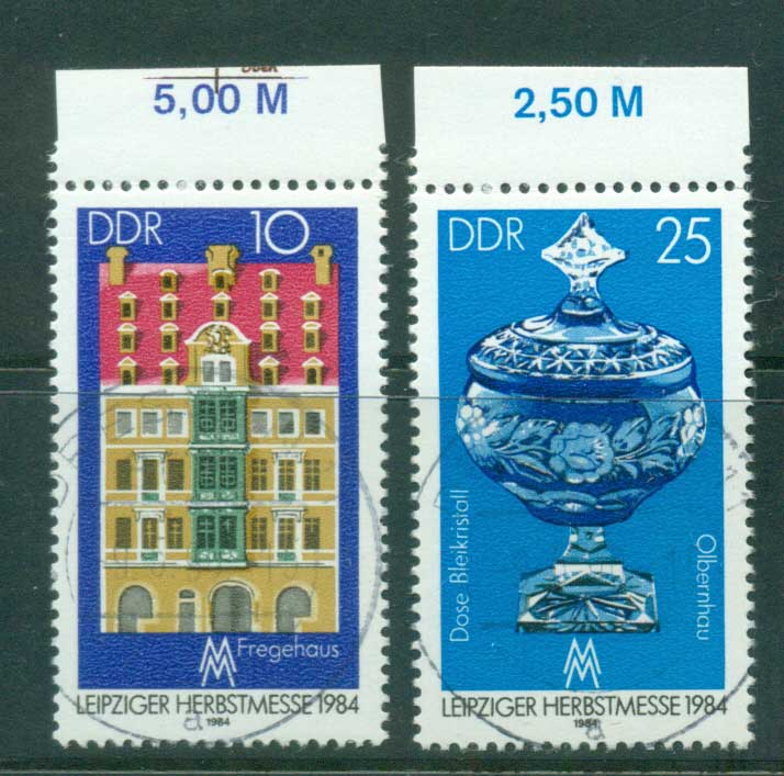 Germany DDR 1984 Leipzig fair CTO lot58045