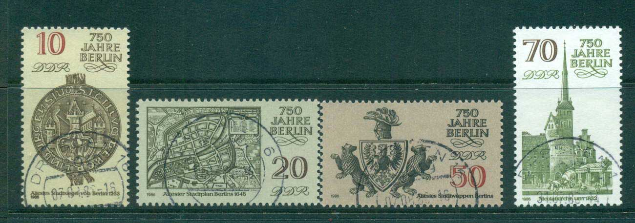 Germany DDR 1986 Berlin Anniv. CTO lot58096