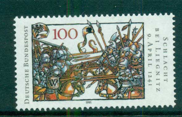 Germany 1991 Battle of Legnica MUH lot58519
