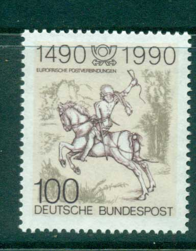 Germany 1990 Young Post Rider MUH lot58524