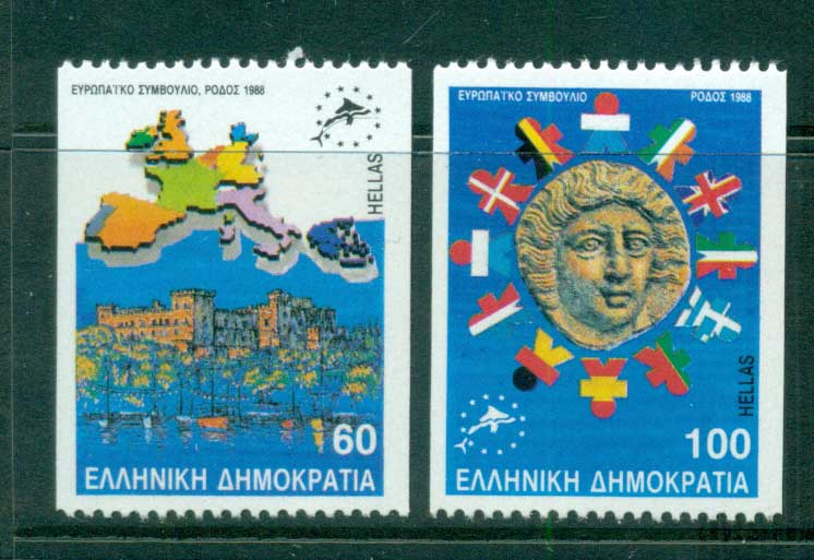 Greece 1988 Council of Europe ex Booklet MUH lot58578