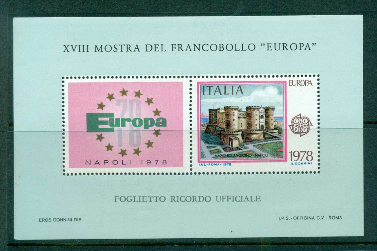 Italy 1978 Europa MS MUH lot58617