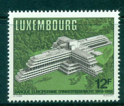 Luxembourg 1988 European Investment Bank MUH lot58661