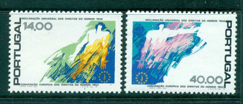 Portugal 1978 Human Rights MUH lot58710