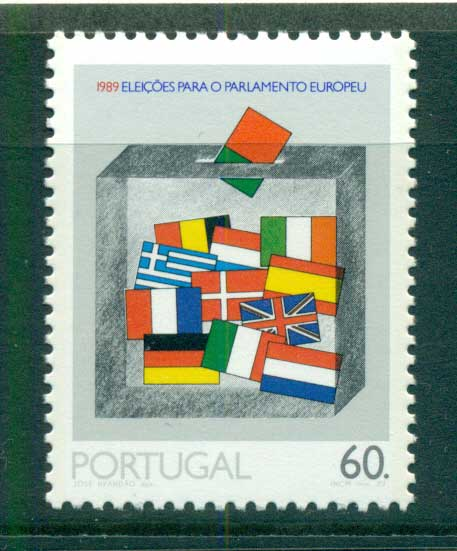 Portugal 1989 European parliament Elections MUH lot58726