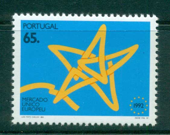 Portugal 1992 Single European Market MUH lot58728